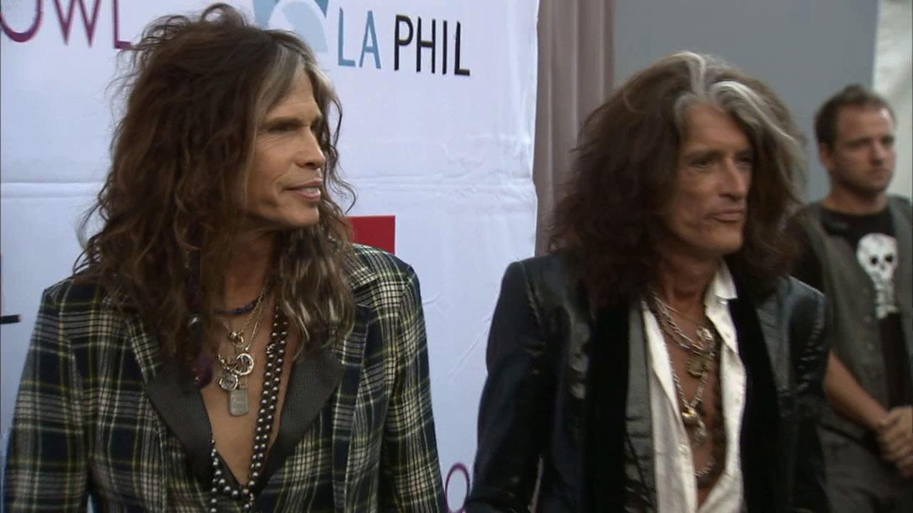 Steven Tyler and Tyler Perry were inducted into Hollywood Bowl Hall of Fame on Saturday, June 22, 2013.