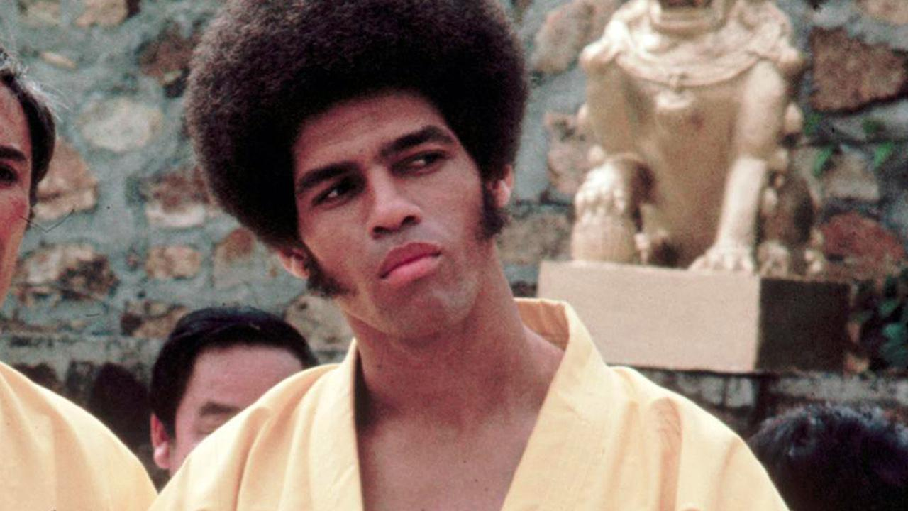 Actor Jim Kelly, who played a glib American martial artist in Enter the Dragon with Bruce Lee, is seen. He died Saturday, June 29, 2013, of cancer at his home in San Diego.Warner Bros. Entertainment