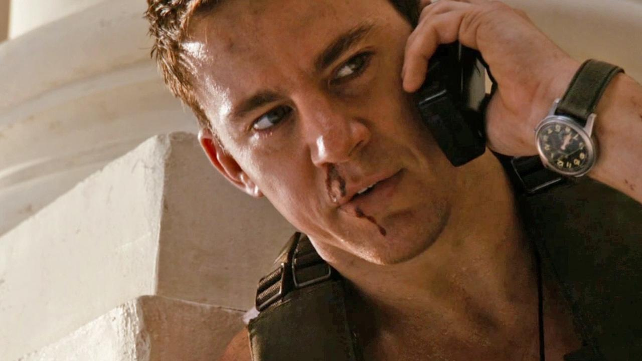 Channing Tatum is seen in the movie White House Down.