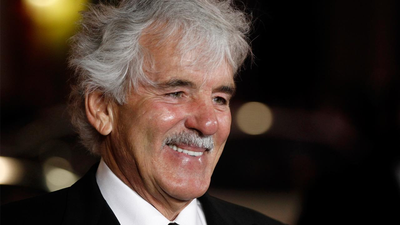 In this Jan. 25, 2012 file photo, Dennis Farina arrives at the premiere for the HBO television series Luck in Los Angeles.Matt Sayles, File
