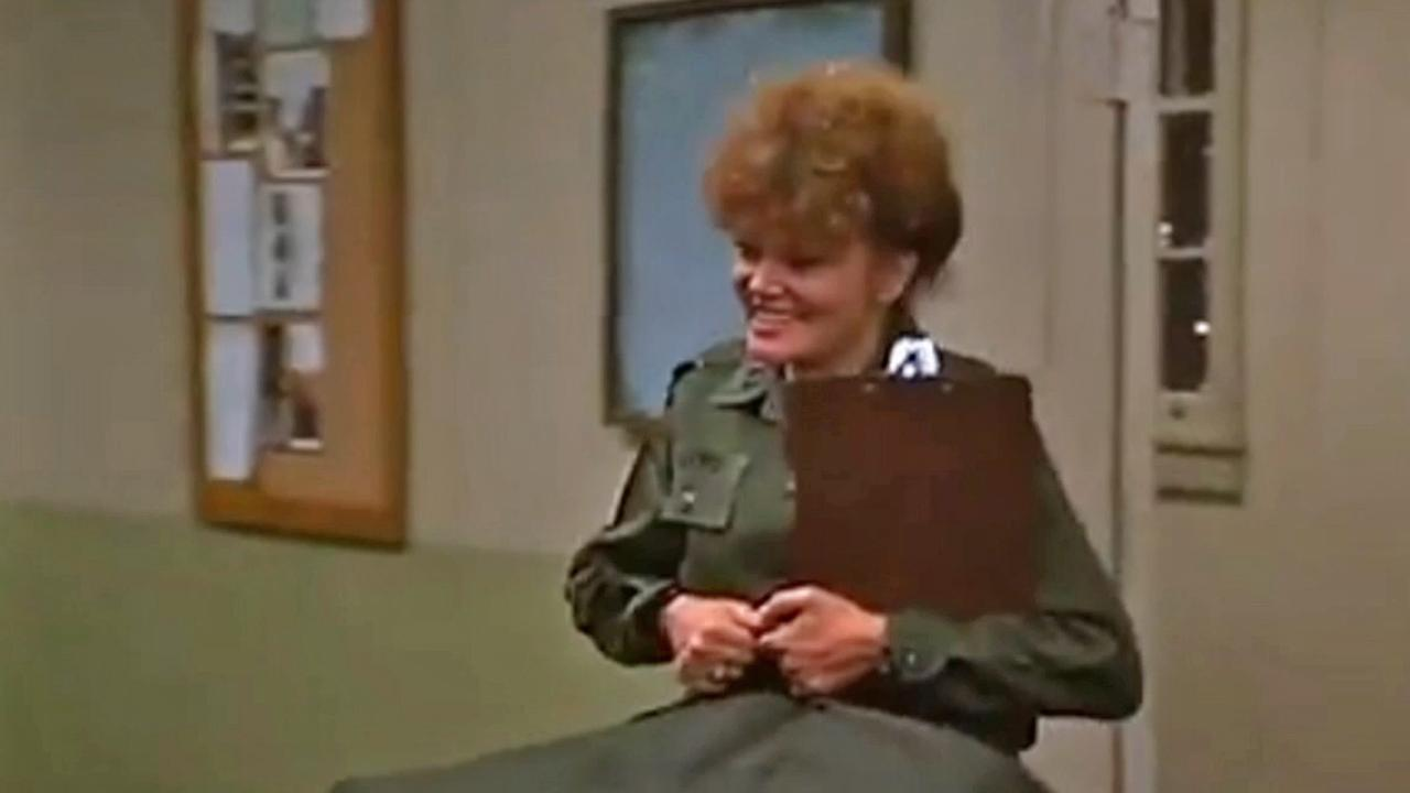 Eileen Brennan appears in Private Benjamin as gruff Army Capt. Doreen Lewis.