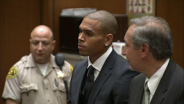Chris Brown arrested after fight outside hotel