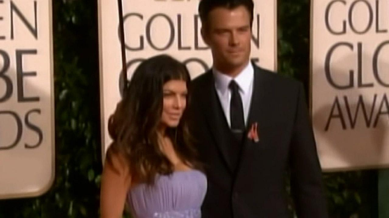 Fergie and Josh Duhamel are seen in this undated file photo.