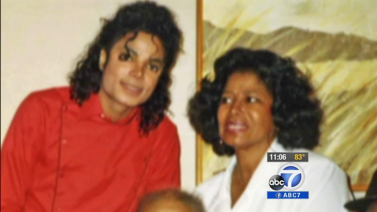 Michael Jackson and his mother Katherine are shown in this undated file photo.