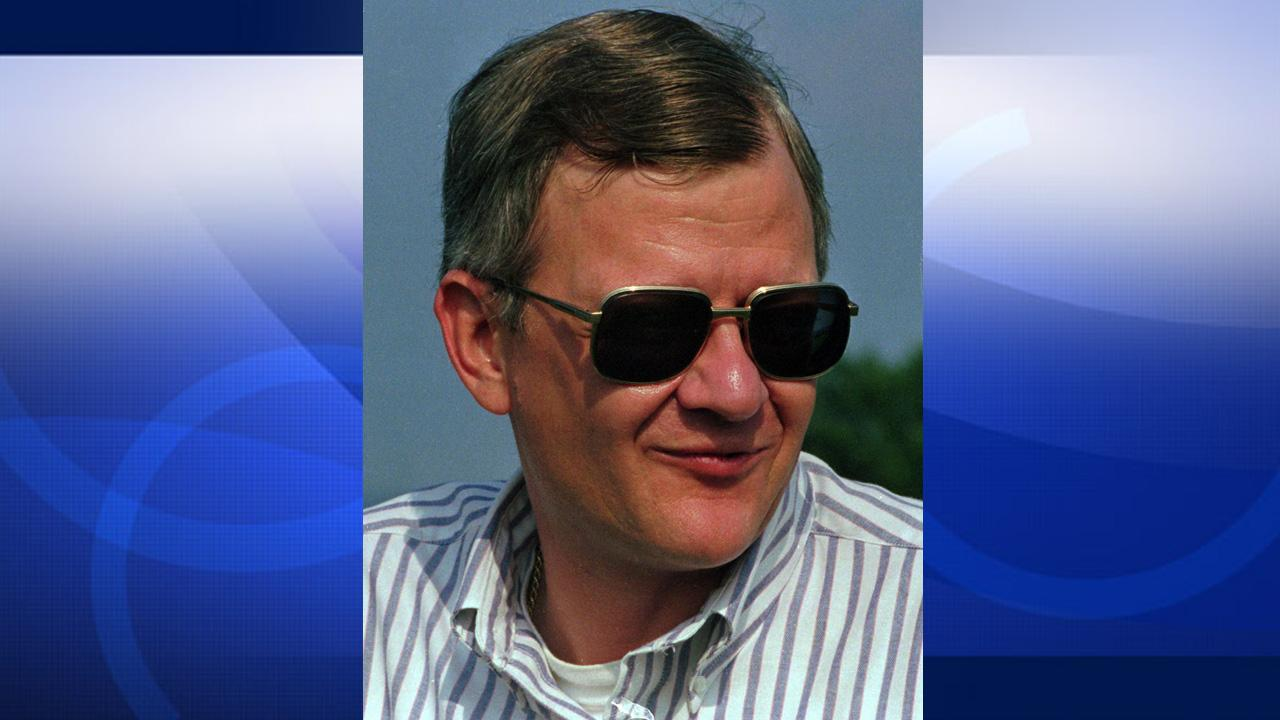 Best-selling author Tom Clancy is seen in this 1992 photo. Clancy died Oct. 2, 2013 at the age of 66.Carlos Osorio