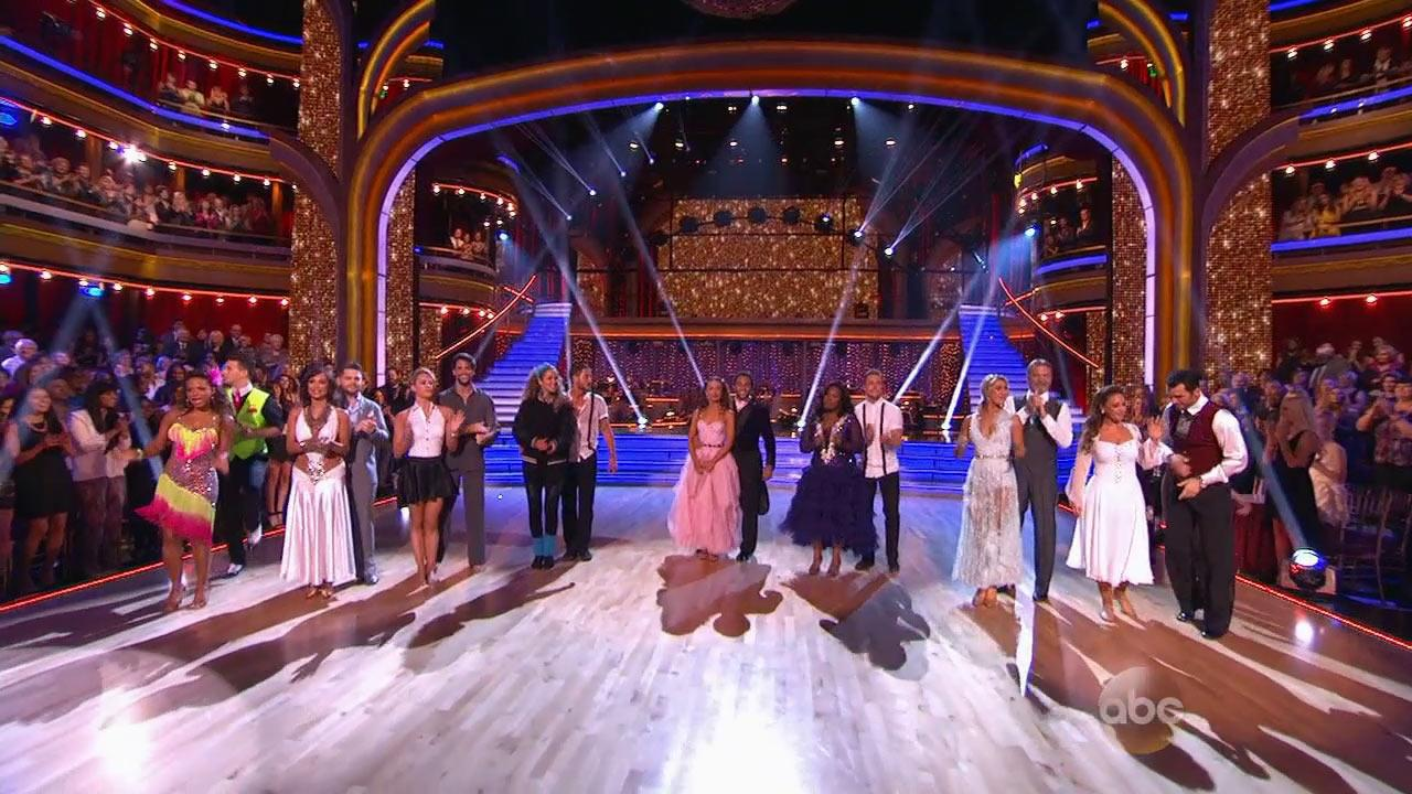 Dancing With The Stars contestants are seen on Monday, Oct. 14, 2013.