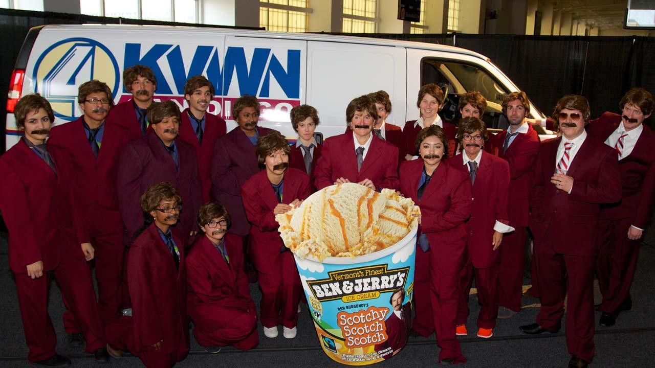 Ben & Jerrys has unveiled a limited edition flavor dubbed Scotchy Scotch Scotch honoring Anchormans Ron Burgundy.