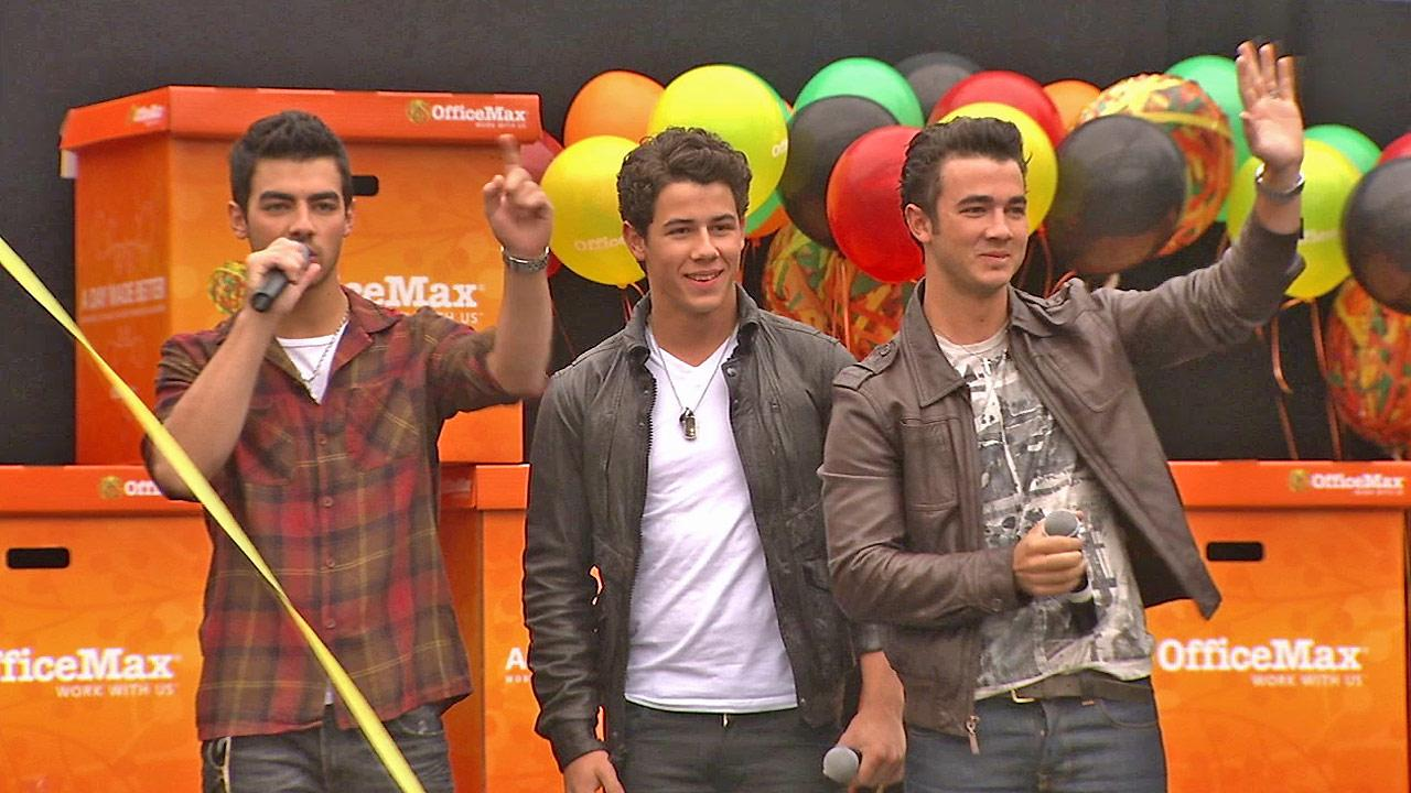 The Jonas Brothers are seen in this undated file photo.
