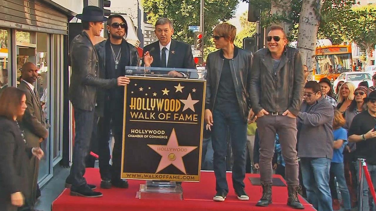 Janes Addiction received a star on the Hollywood Walk of Fame Wednesday, October 30, 2013.