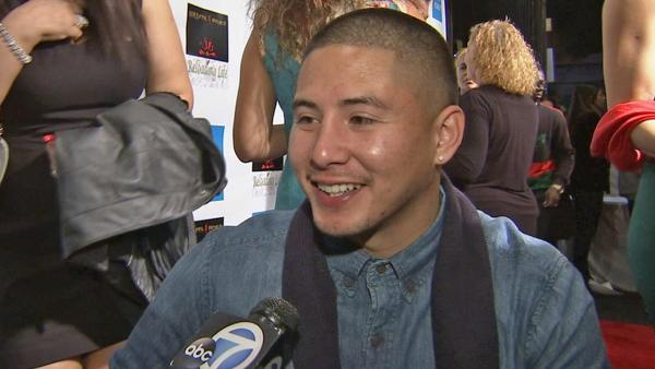 Paraplegic man honored at red carpet event