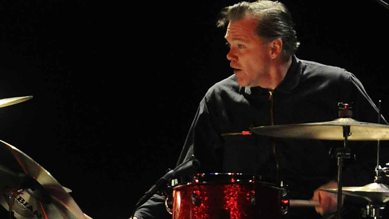 Scott Asheton, drummer for the influential punk rock band The Stoogies died Saturday, March 15, 2014. He was 64. In this Dec. 1, 2011 file photo, Asheton performs live at The Palladium in Los Angeles.Katy Winn