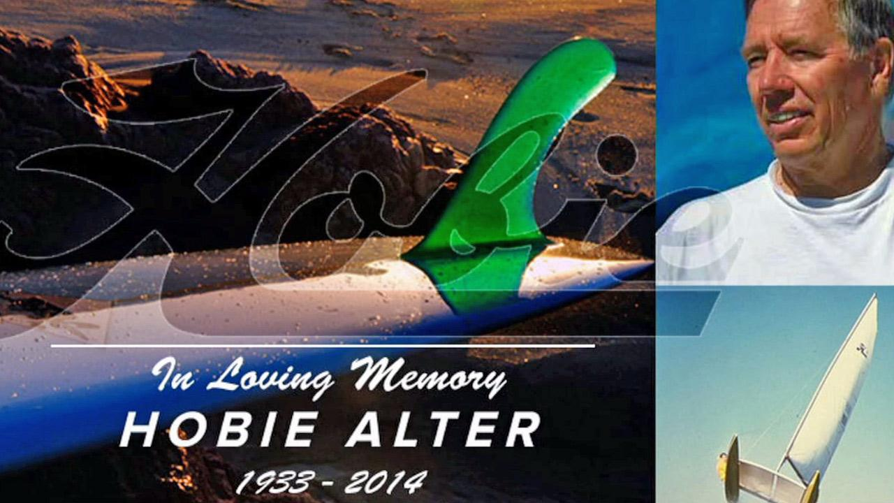 A still photo taken from the Hobie Alter sporting goods website. The surfboard and sailboat innovator died Sunday, March 30, 2014.www.hobie.com