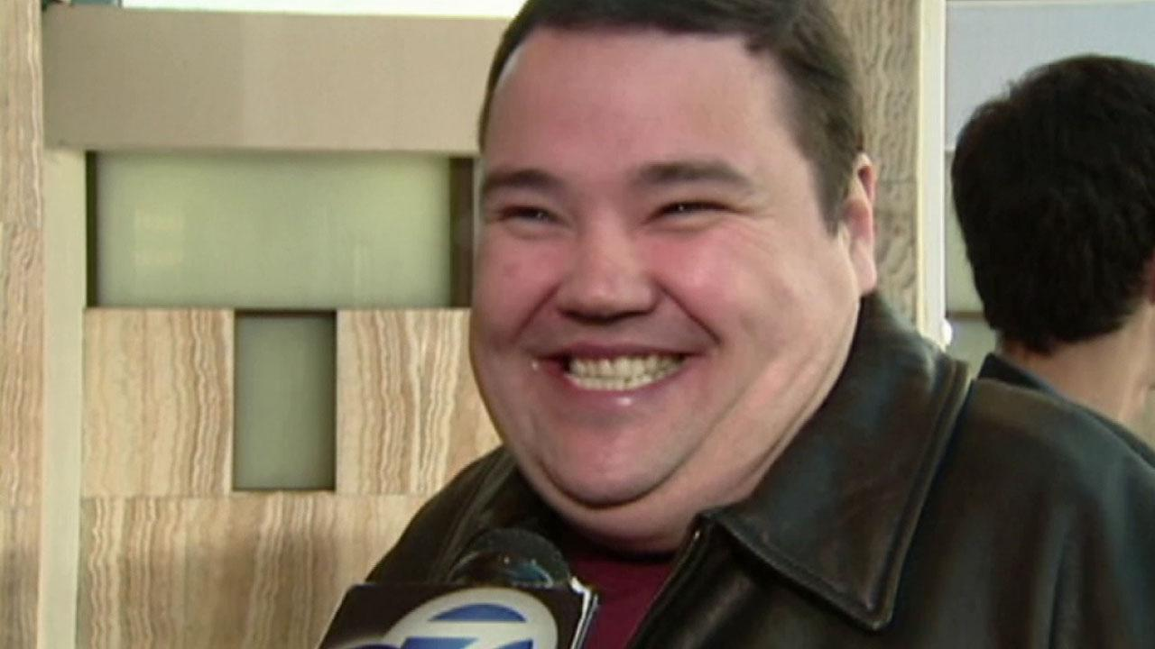 Comedian John Pinette talks to Eyewitness News in this undated file photo.