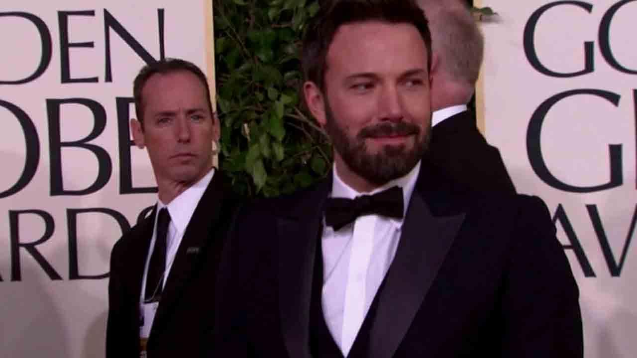 Ben Affleck appears at the Golden Globe Awards in this undated file photo.