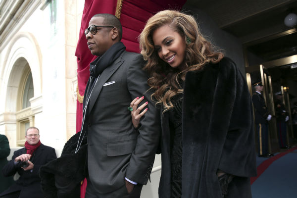 "<div class=""meta ""><span class=""caption-text "">Jay-Z and Beyonce attend the ceremonial swearing-in of President Barack Obama at the U.S. Capitol during the 57th Presidential Inauguration in Washington on Jan. 21, 2013. (AP Photo / Win McNamee)</span></div>"