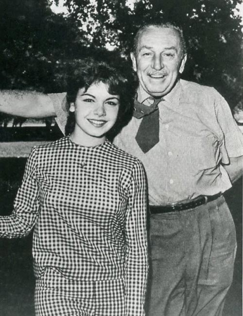 Beloved Mouseketeer Annette Funicello is seen with Walt Disney in this undated photo. <span class=meta>(Courtesy of Annette Funicello Research Fund for Neurological Diseases Inc.)</span>