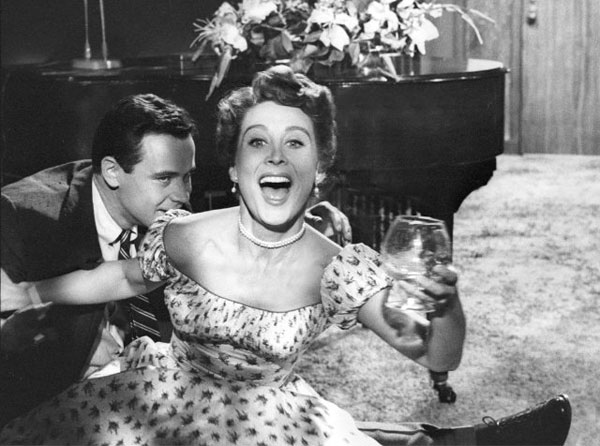 Betty Garrett and Jack Lemmon in a still from...