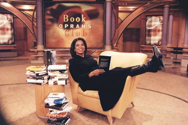 Oprah's Book Club includes 65 selections, and the club has nearly two million members.