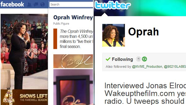 &#39;The Oprah Winfrey Show&#39; has more than 5.6 million Facebook fans and more than 5.8 million Twitter followers. <span class=meta>(KABC)</span>