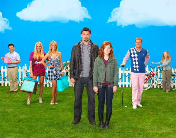 ABC comedy series &#39;Suburgatory,&#39; starring Jeremy Sisto, Jane Levy and Cheryl Hines, premieres its second season on October 17, 2012 and will air on Wednesdays from 9:30 to 10 p.m. <span class=meta>(ABC &#47; Bob D&#39;Amico)</span>
