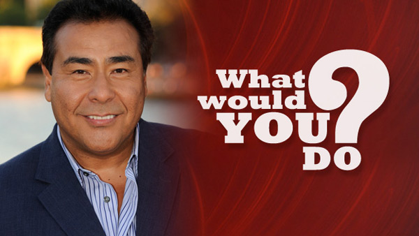 &#39;What Would You Do?&#39; returns to ABC for a 7th season on September 14, 2012. The series will air Fridays from 9 p.m. to 10 p.m.  <span class=meta>(ABC)</span>