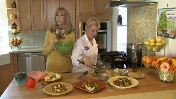 Food Coach Lori Corbin and Sunkist Chef Jill Davie get creative in the kitchen. They show us how to cook three different chicken meals using roughly the same ingredients.