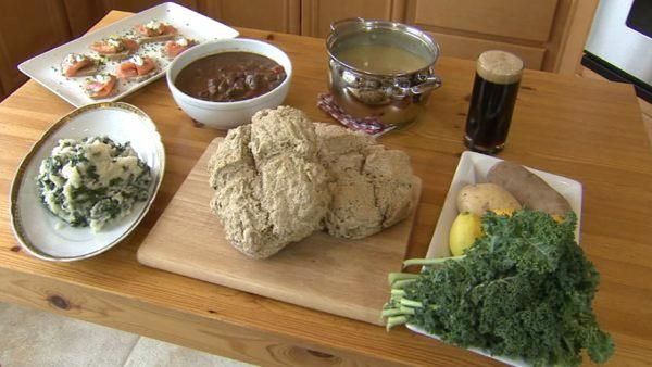For many Americans, St. Patrick's Day is about green beer and corned beef. One chef says there are healthier options.