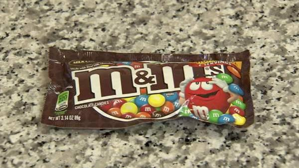 At around 150 pounds, it will take you an hour to walk off a half a bag of M&M's.