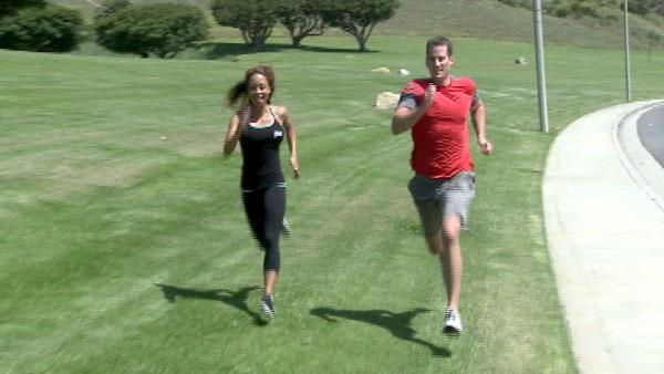 Sprinting builds up muscles, fitness pro says
