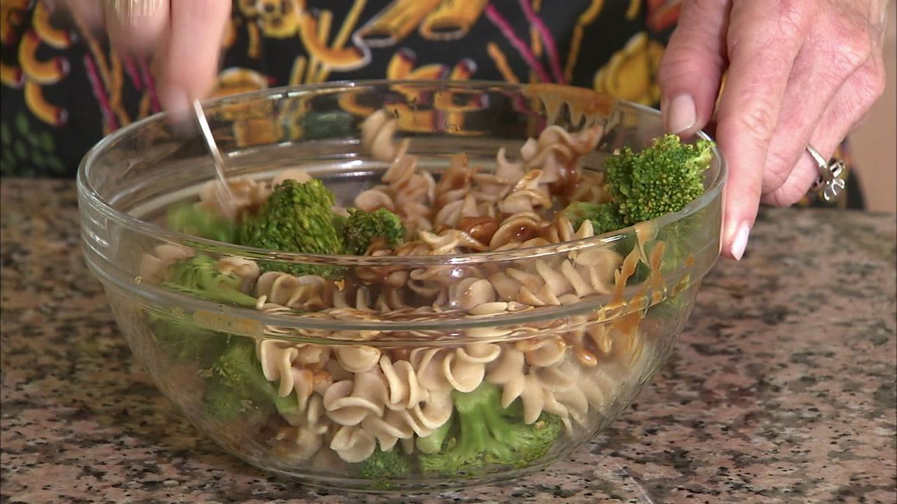 Kamut spirals work well with a spicy peanut sauce and broccoli for a hot or cold salad. They are very filling with 6 grams of fiber and 10 protein grams per serving. Theyre also packed with minerals like iron and zinc.