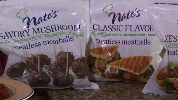 On those Monday's when you want your meal in minutes, you can turn to some products that can help you get dinner together in a flash. For example, Nate's Meatless Meatballs come in three flavors.