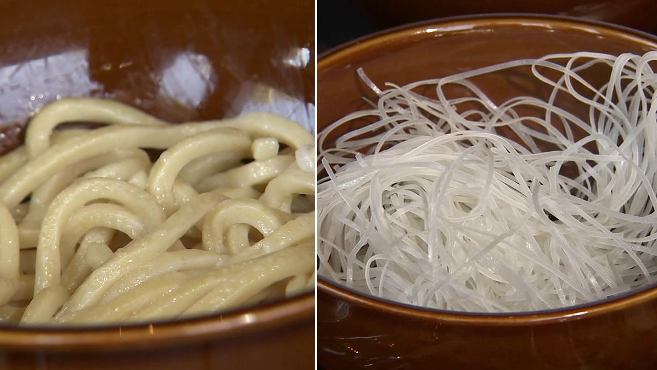 There are plenty of different varieties on the market these days, such as udon noodles, soba noodles, and rice noodles.
