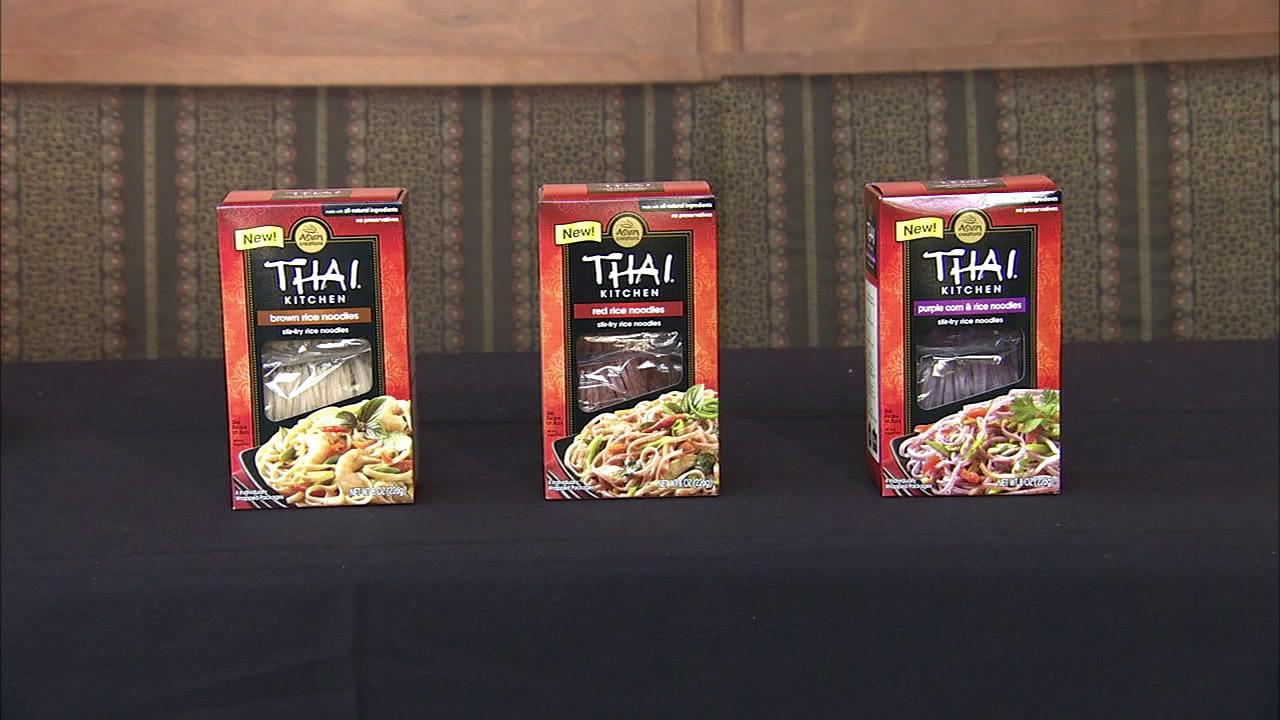 Dietician Alyse Levine said rice noodles - such as the ones offered by Thai Kitchen - are a bonus for those with gluten issues. But she warns that just because its an alternative noodle variety doesnt mean you can eat unlimited amounts.
