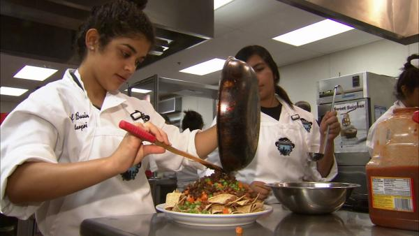 'Cooking up Change' challenges young chefs