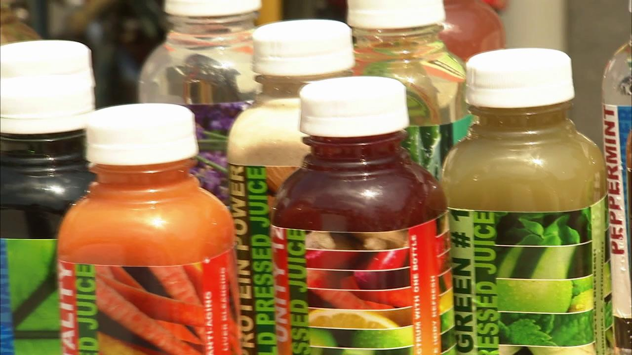 Dieticians say juice bar sales will continue to be off the charts.