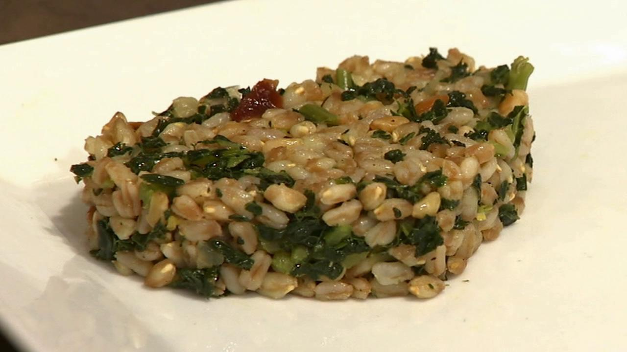 Sur La Tables Italian-style farro with kale is seen in this undated photo.