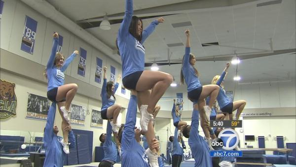 Cheerleading injuries on the rise