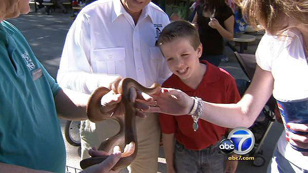 LA Zoo offers program for autistic kids