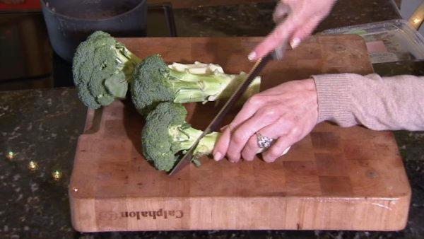 Broccoli ranked No. 2 on Fitness Magazine's list of the healthiest foods on the planet. The magazine says one medium stalk contains more than 100 percent of your daily vitamin K requirement.
