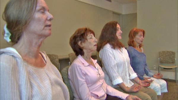 Meditation for caregivers proves beneficial
