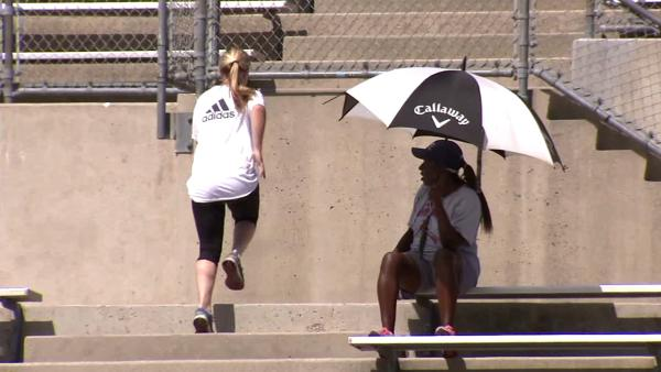 Valley residents cope with sweltering heat