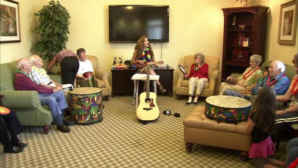 Alzheimer's patients and music: documentary