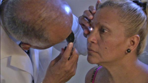 Free vision care offered at mobile clinic