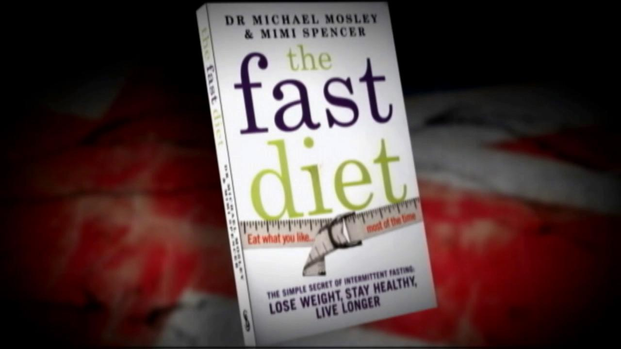 British Doctor Michael Mosleys book The Fast Diet is seen in this undated file photo.