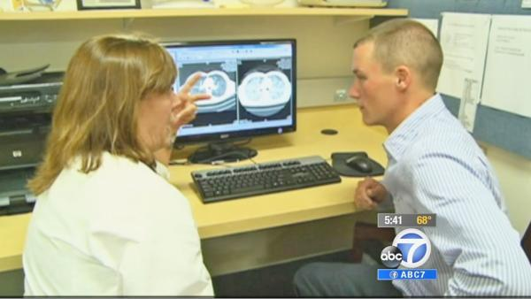 Lung cancer treatment helps those w/ ALK gene