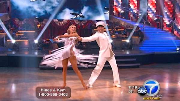 'DWTS': Hines in first, but who did worst?