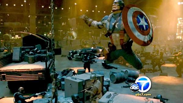 'Captain America' premieres in Hollywood