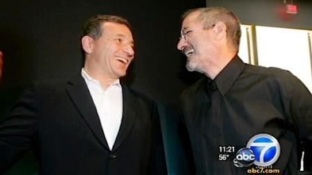 Disney President Bob Iger said Apple co-creator Steve Jobs turned dreams and big ideas into reality.