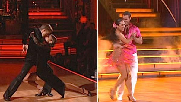 'DWTS': Levy, Menounos score perfect 30s