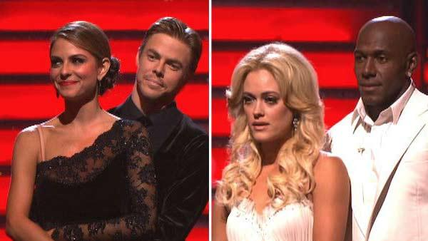 'DWTS' elimination: Menounos or Driver?